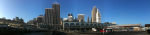 pano: Ferry Bld and the city