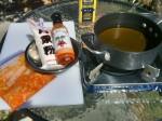 Prep for karaage frying