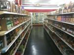 soda aisles inside Galcos