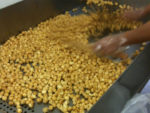 caramel corn production